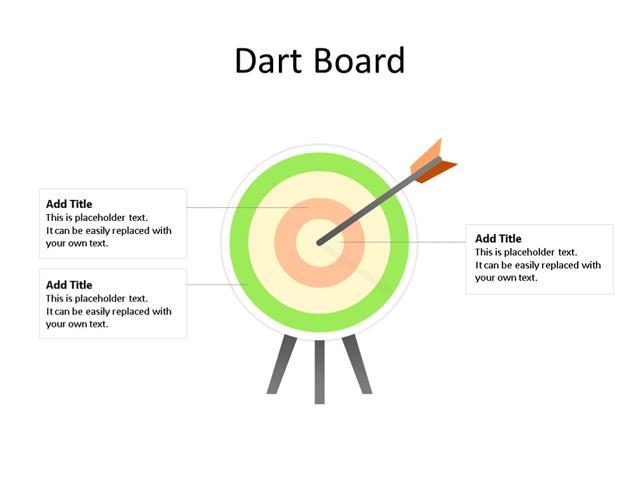 PowerPoint Slide - Planning Diagram - 1 Arrow - Multicolor