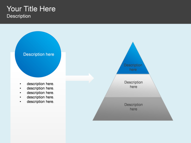 Powerpoint slide pyramid diagram 3 stages circle 5 blocks powerpoint slide pyramid diagram 3 stages circle 5 blocks blue ccuart Gallery