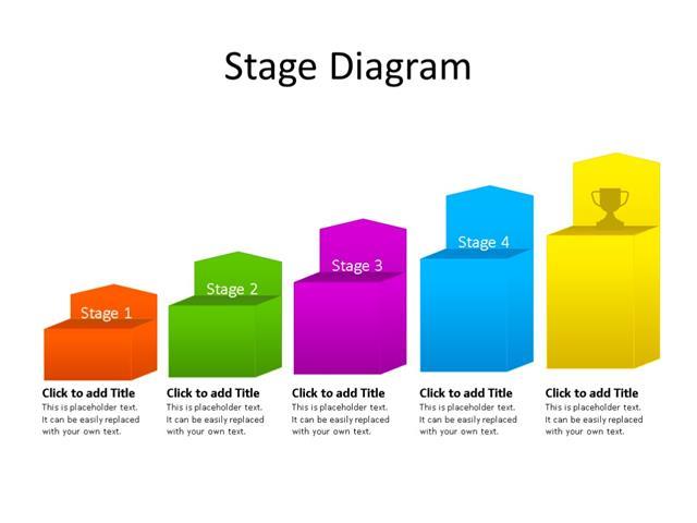 ppt slide stairs diagram 5 steps multicolor. Black Bedroom Furniture Sets. Home Design Ideas
