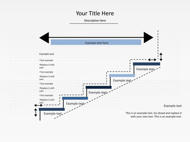 powerpoint slide step up process diagram arrow 5. Black Bedroom Furniture Sets. Home Design Ideas